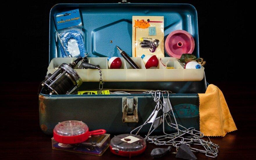 Žūklės įrankiai