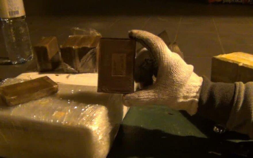 Už 79 kg hašišo klaipėdiečiui skirta 12 metų nelaisvės