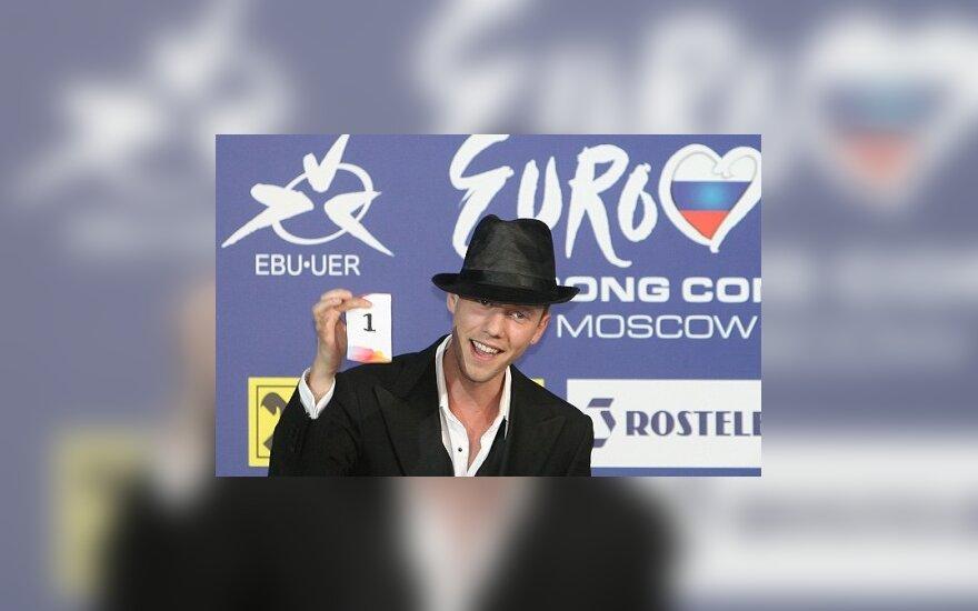 """Sasha Song: daina """"Eurovizijai"""" jau yra"""
