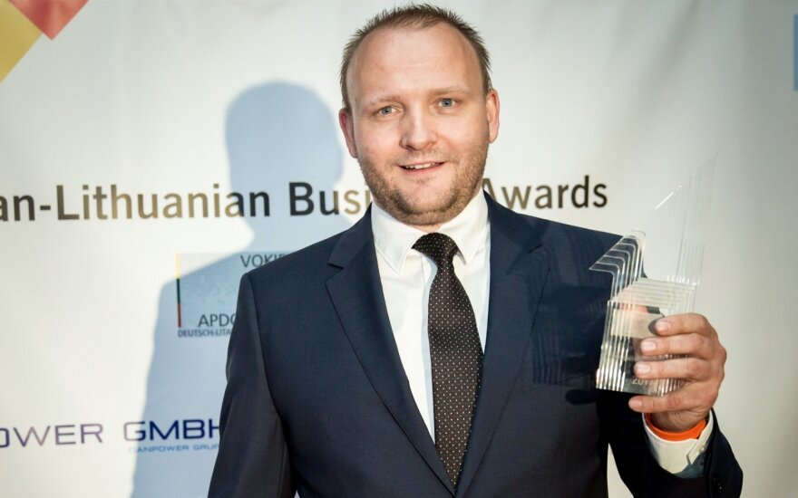 Winner Raimundas Slavinskas, Business Developement Manager AEDILIS