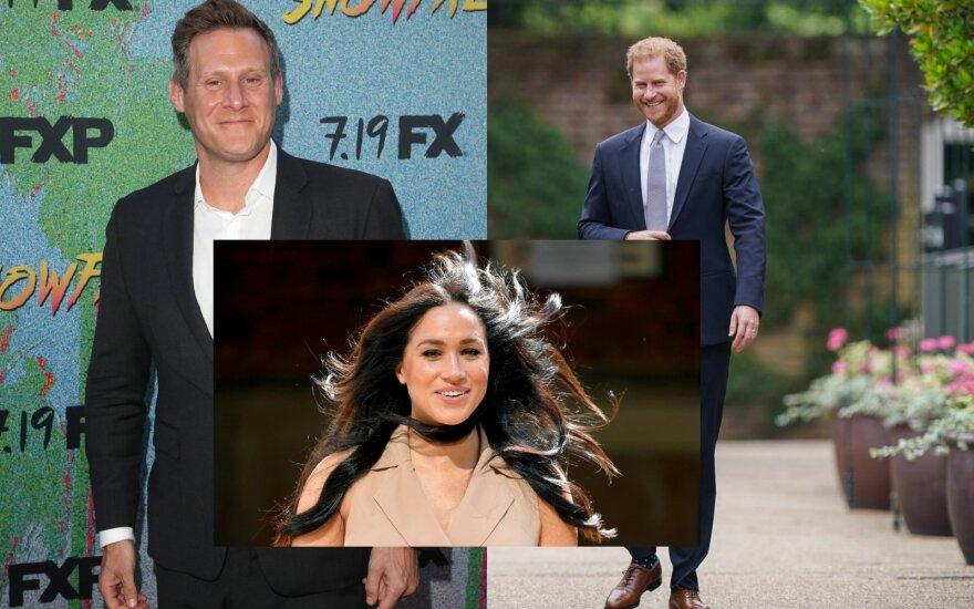 Princas Harry, Meghan Markle, Trevoras Engelsas / Foto: VidaPress, Scanpix