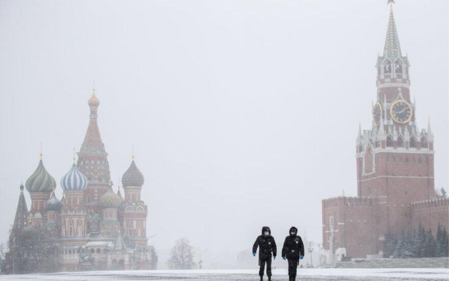 Koronavirusas Maskvoje
