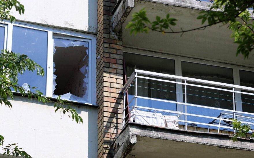 Pagarsėjusiame Kauno daugiabutyje nugriaudėjo sprogimas