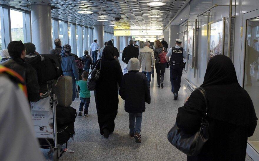 Į Lietuvą pagal ES programą atvyko 20 pabėgėlių sirų