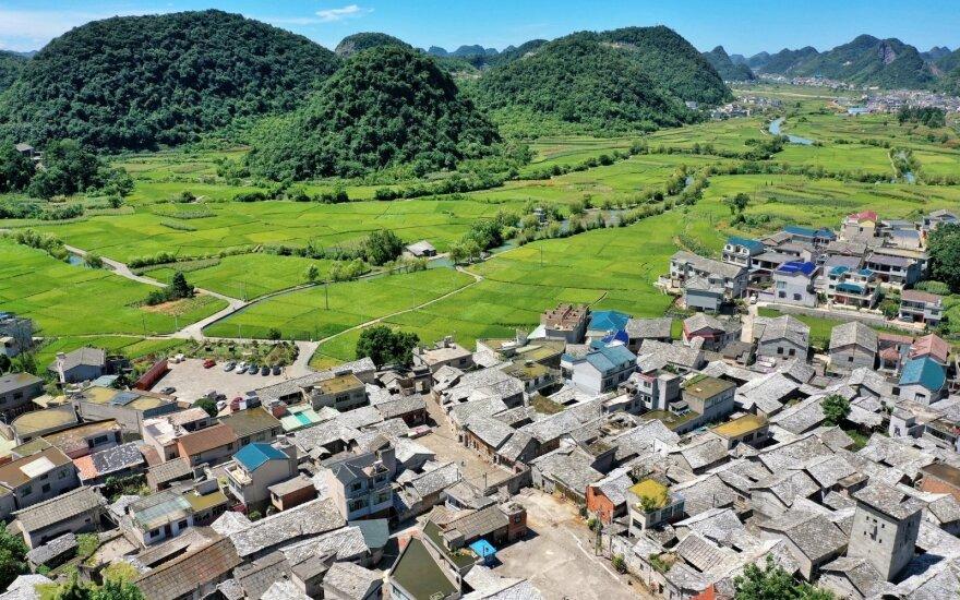 Asociatyvi nuotr. Baojiatun kaimas Kinijoje