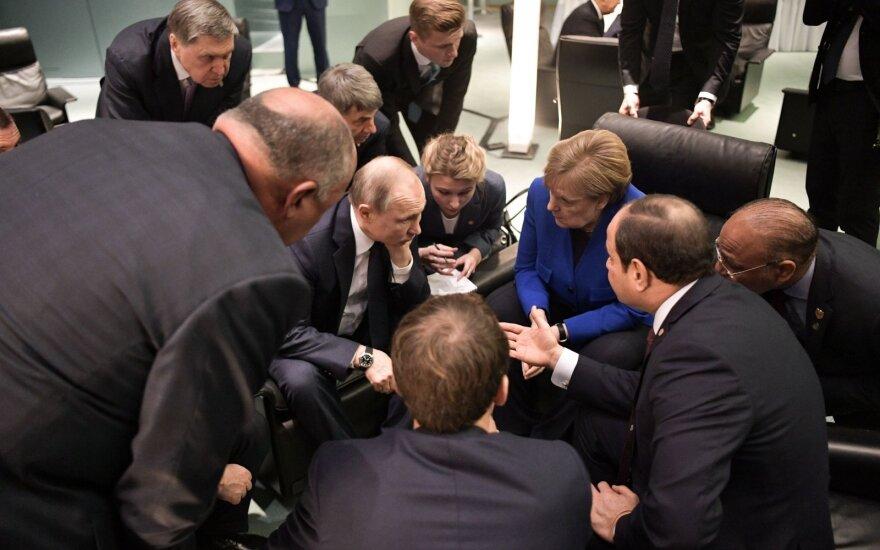 Susitikimas Berlyne dėl Libijos