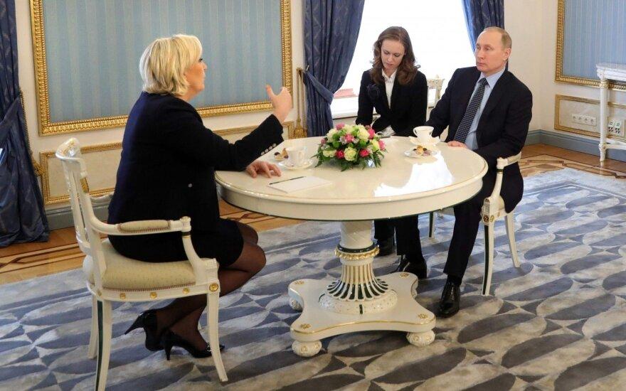 Marine Le Pen, Vladimiras Putinas