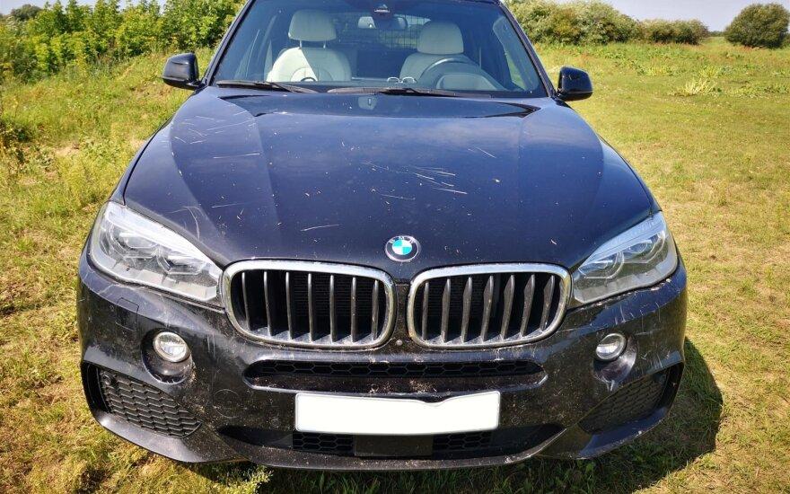 Apgadintas BMW X5