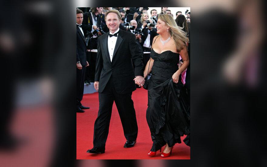 Dan Brown su žmona