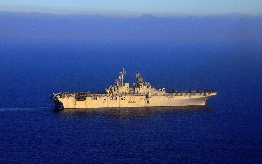 JAV USS Boxer laivas