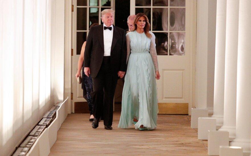 Donaldas Trumpas, Melania Trump