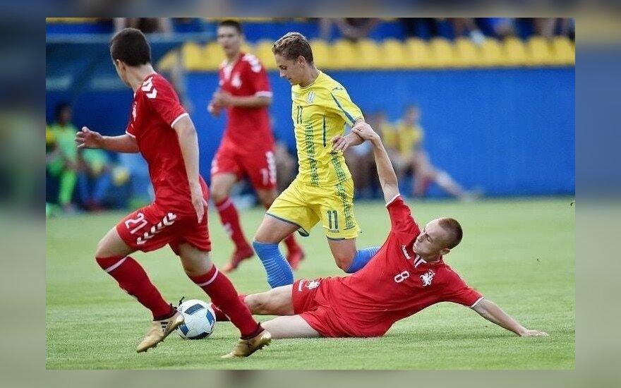 Lietuvos U17 futbolo rinktinė Ukrainoje