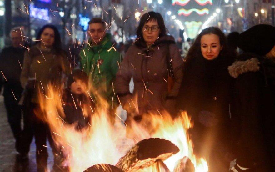 Vilniuje rengiamas mitingas palaikyti Ukrainą