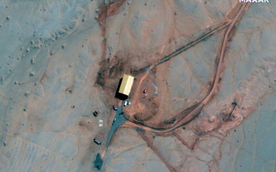 Palydovo užfiksuota įtariama požeminė Kinijos raketų paleidimo aikštelė