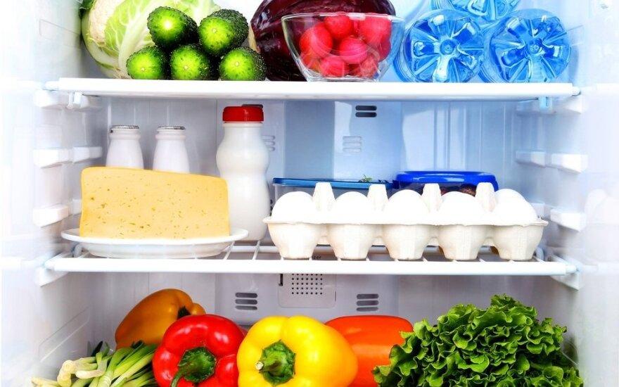 Ką galima ir ko negalima laikyti šaldytuve