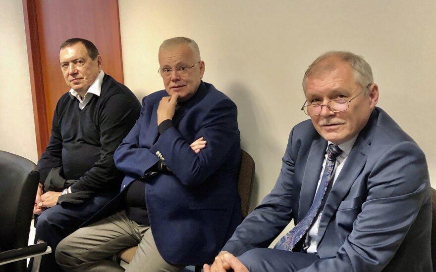 Rinatas Nasirovas, Albinas Bieliauskas ir Rimantas Šidlauskas