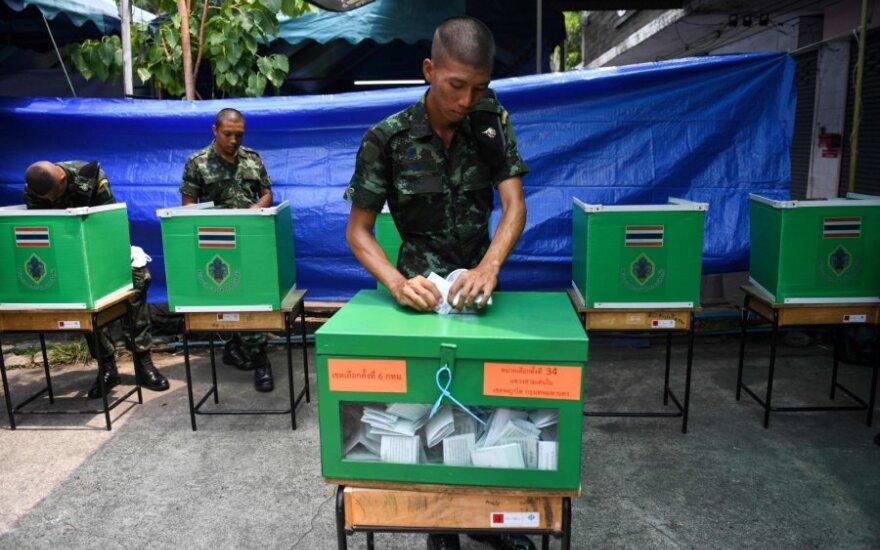 Rinkimai Tailande