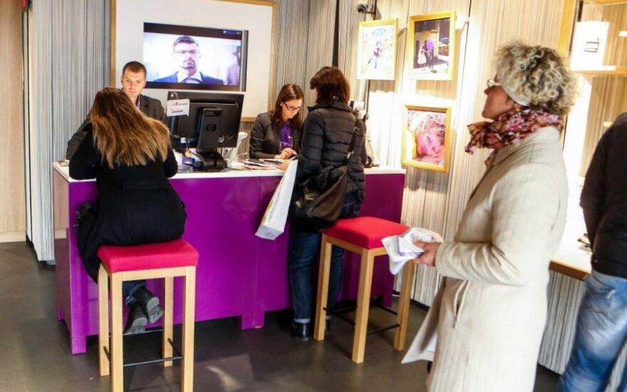 Po susidūrimo su pirkėju Vilniaus pardavėja apsipylė ašaromis
