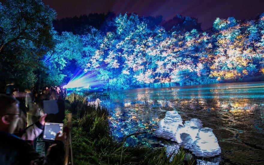 Šviesų festivalis Beepositive 2016