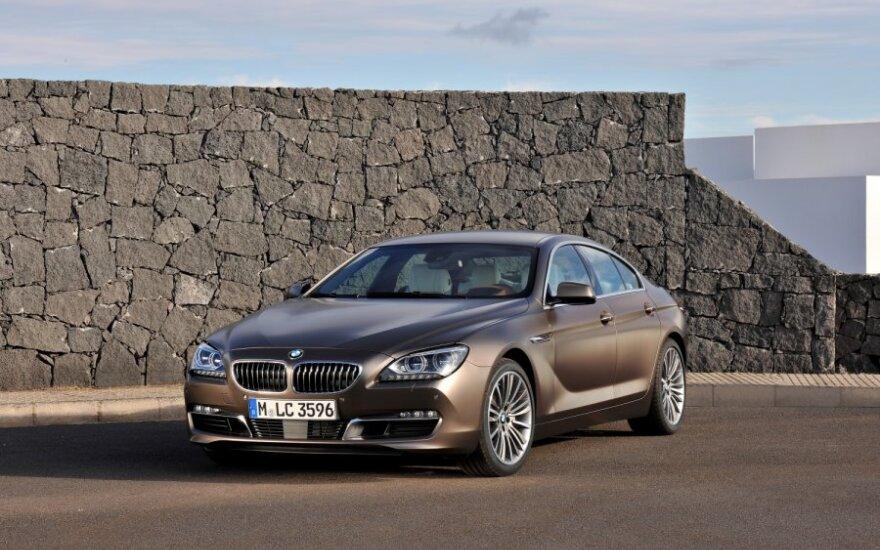 BMW 6-serijos Gran Coupe