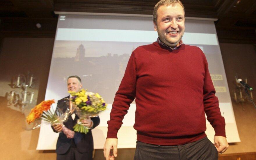 Eligijus Masiulis, Antanas Guoga