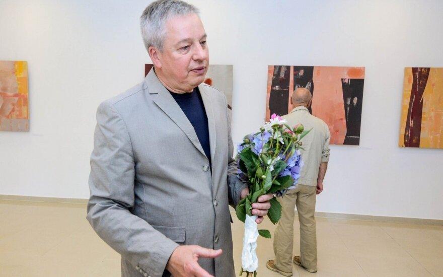 Tapytojas R. Garbačiauskas pristatė muzikalią paveikslų tylą