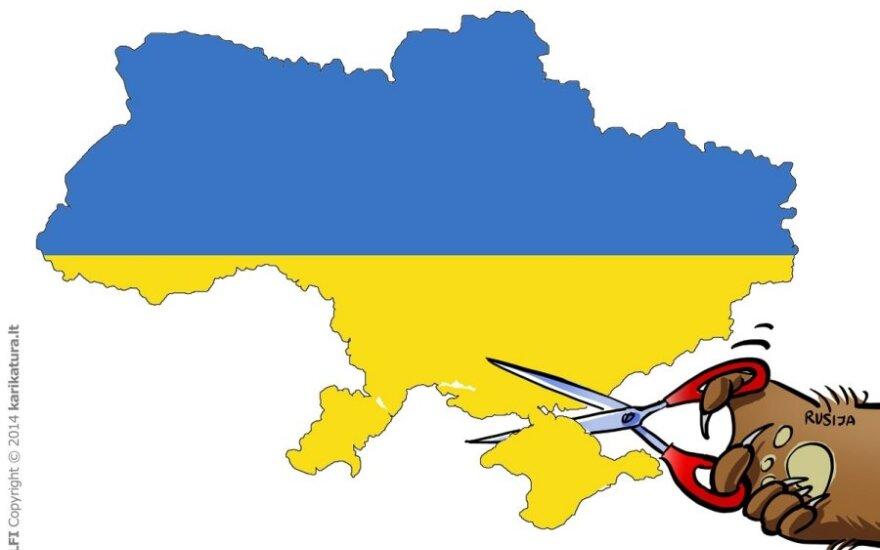 D.Grybauskaitė: dialogas galimas tik Ukrainai atstačius vientisumą
