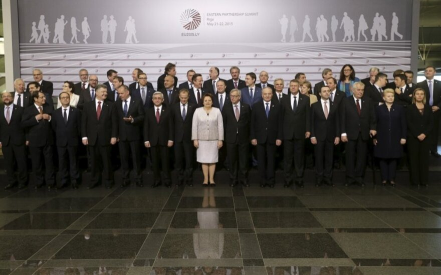 EU Eastern Partnership summit in Riga