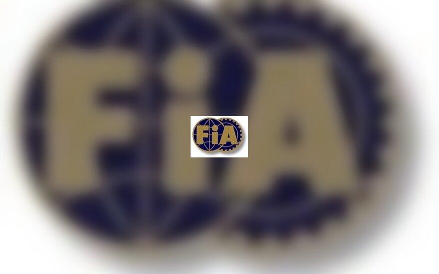 FIA emblema
