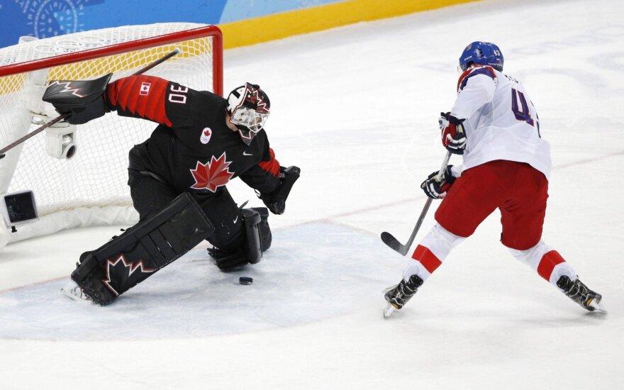 Kanados ledo ritulininkai pralaimėjo Čekijai
