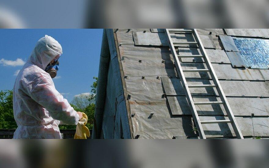 Siūloma peržiūrėti asbestinių stogų keitimo taisykles