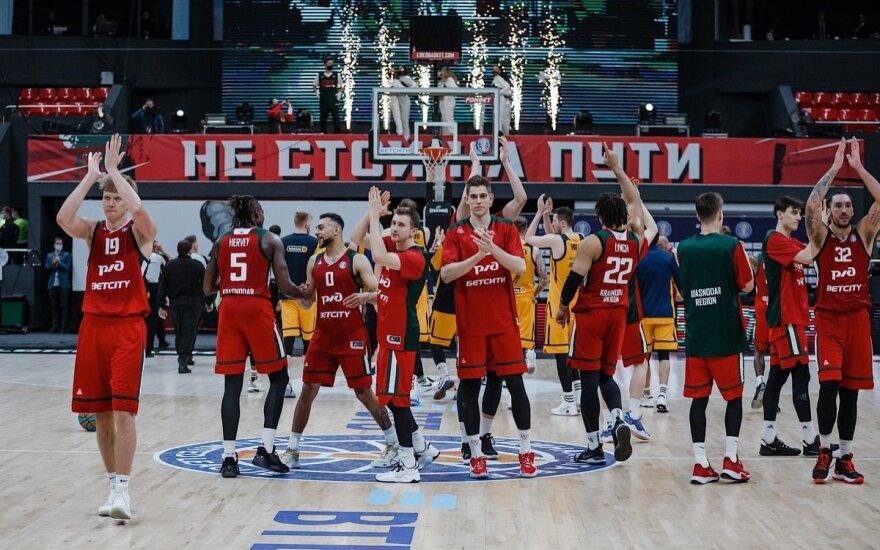 """""""Lokomotiv-Kuban"""" žengė į VTB Vieningosios lygos pusfinalį / Foto: Lokobasket.com"""