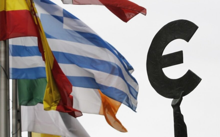 Euro zonos ekonomikai – prastesnė prognozė