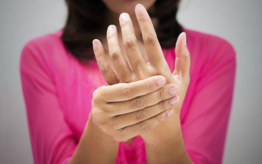 Ką apie sveikatą kalba mūsų rankos?