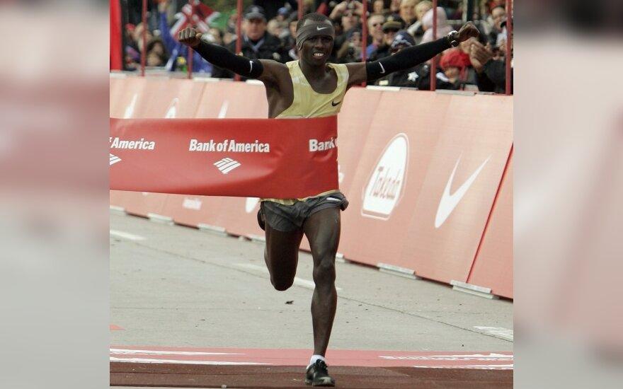 S.Wanjiru Čikagos maratone finišavo pirmas