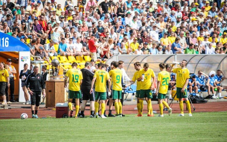 Baltijos futbolo taurė: Lietuva - Estija