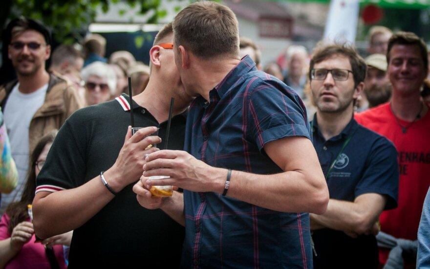 """LGBT concert at  """"Loftas"""" after the Baltic Pride 2016 in Vilnius"""