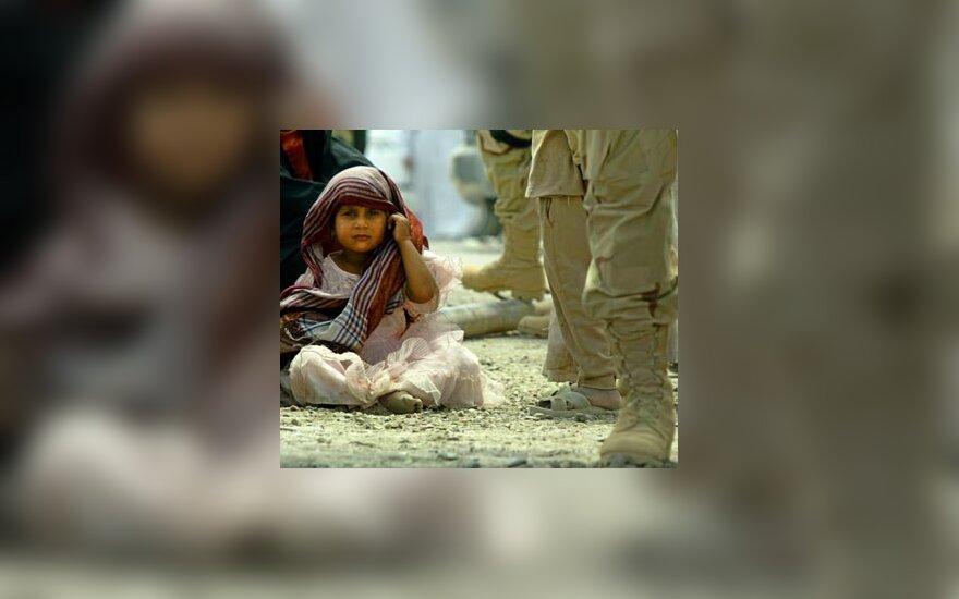 Irakietė mergaitė