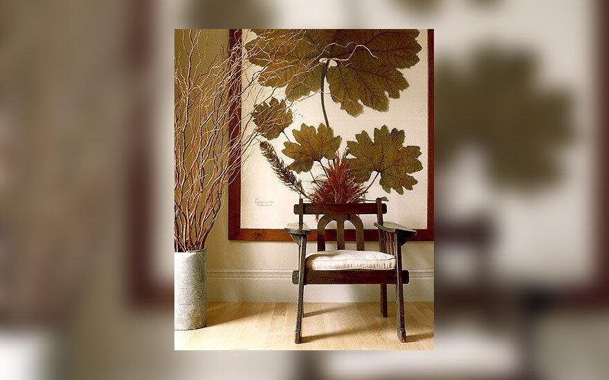 Kėdė, interjeras, baldai