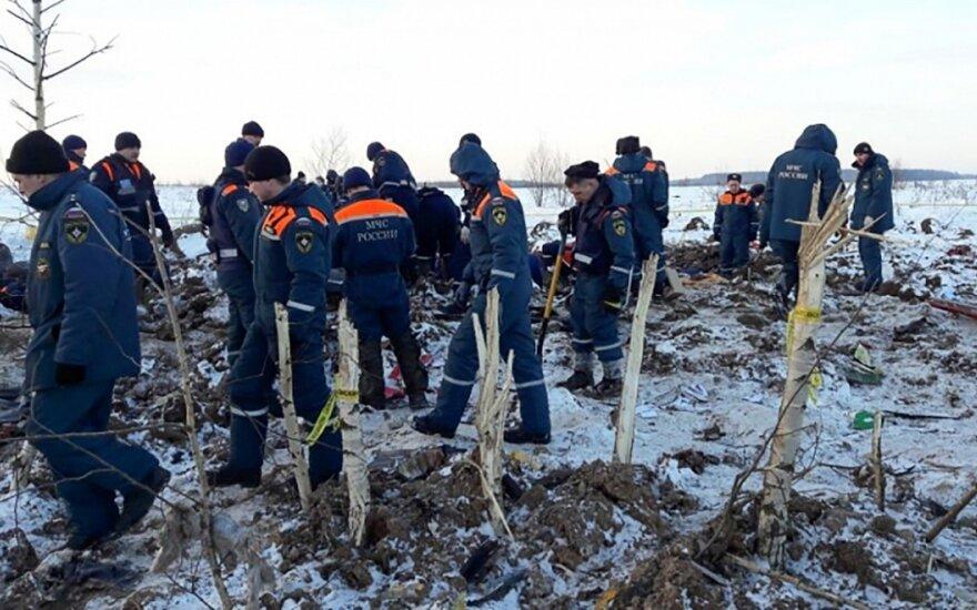 Lėktuvo katastrofą vasarį Rusijoje sukėlė piloto klaida