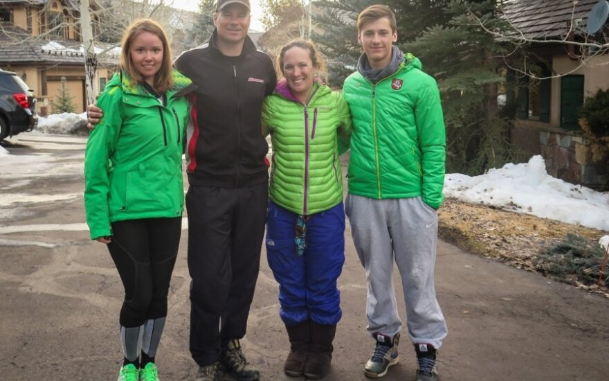 Bridging the gap: Two generations of Lithuanian ski racers come together in Colorado