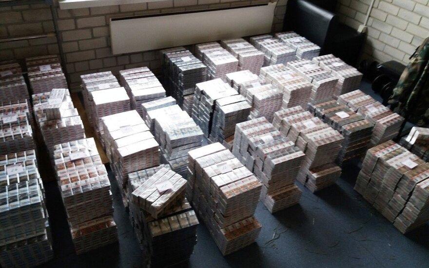 Nelegalios cigaretės Lietuvai kainuoja daugiau nei 50 mln. eurų per metus