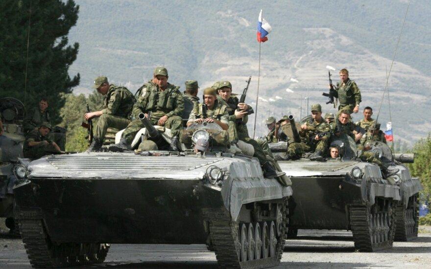 Rusijos ir Sakartvelo karo metinės: nerimas dėl provokacijų nesibaigė
