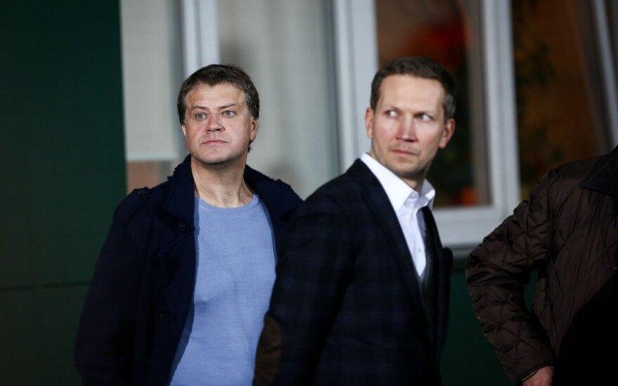 Rolandas Skaisgirys, Justinas Garliauskas