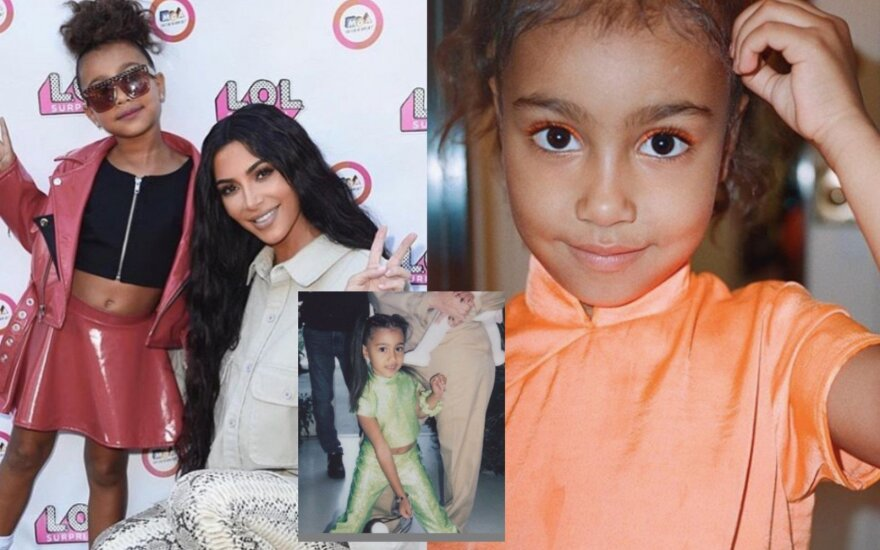 Kim Kardashian dukra North West