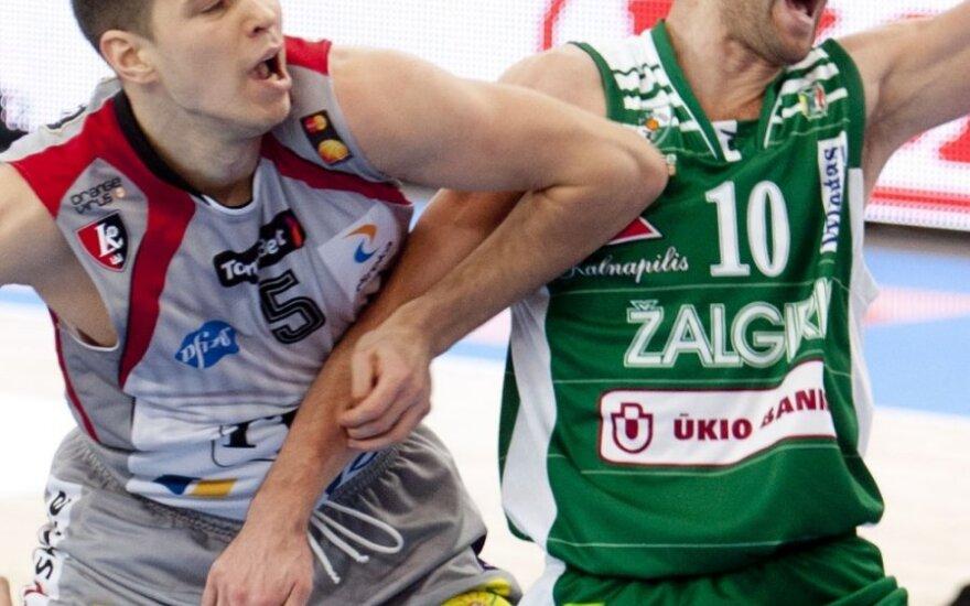 """Be Kauno savivaldybės paramos """"Žalgirio"""" komanda bus silpnesnė"""