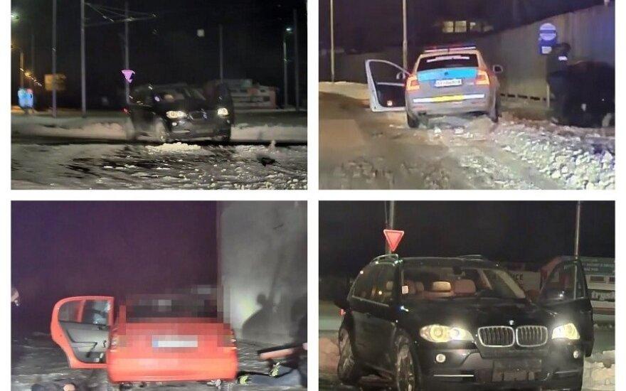 Lietuviai pagarsėjo ir Slovakijoje: sudaužęs vogtą BMW dėjo į kojas