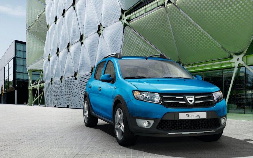 """""""Dacia"""" pirmą kartą pasiūlė automatizuotą mechaninę pavarų dėžę"""