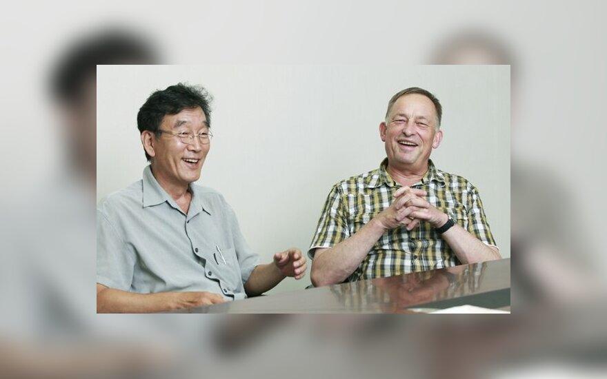 Hailji ir Kornelijus Platelis (Park Sang-moon nuotr.)