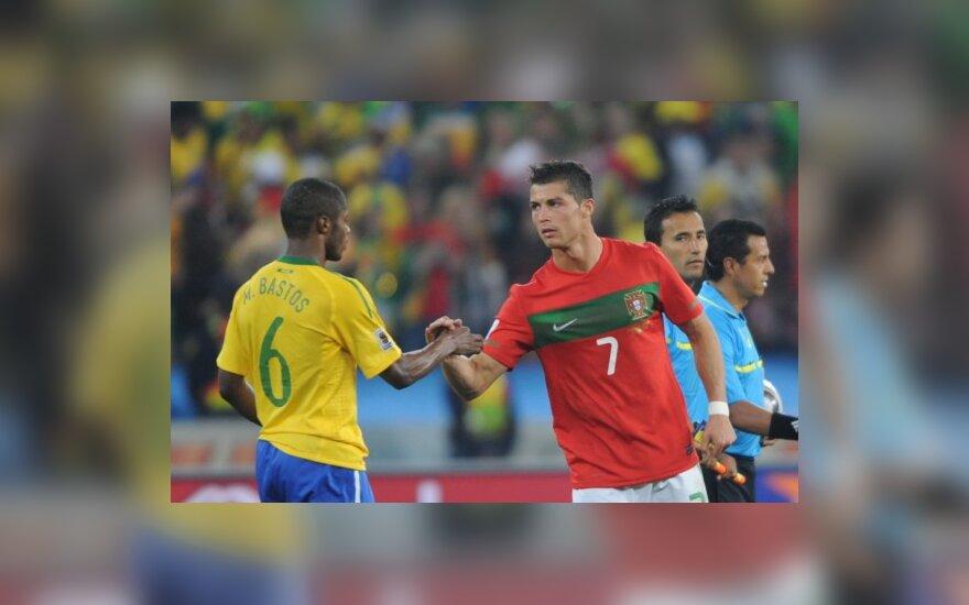 Cristiano Ronaldo ir Michelis Bastosas